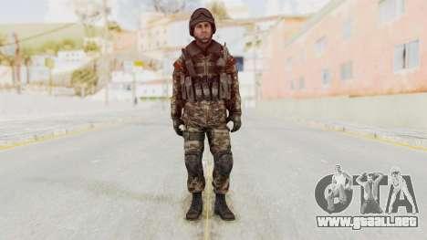 CoD MW3 Russian Military SMG v1 para GTA San Andreas segunda pantalla
