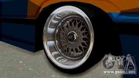 Honda Civic EF9 HellaFlush para GTA San Andreas vista hacia atrás
