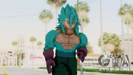 Dragon Ball Xenoverse Vegito SSJ42 SSGSS para GTA San Andreas
