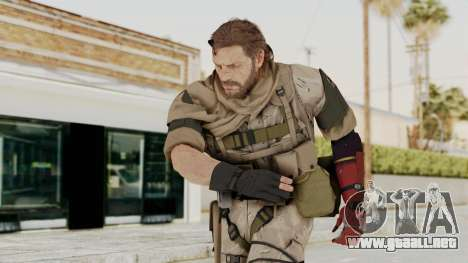 MGSV The Phantom Pain Venom Snake Sc No Patch v3 para GTA San Andreas