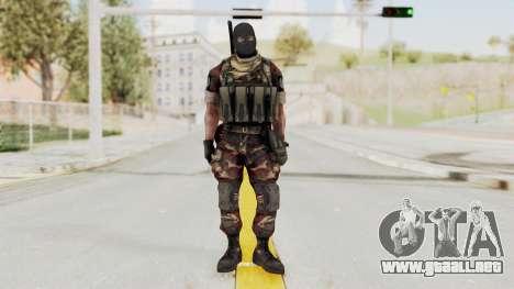 Battery Online Russian Soldier 3 v2 para GTA San Andreas segunda pantalla