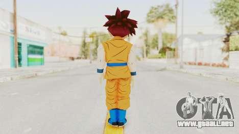 Dragon Ball Xenoverse Gohan Teen DBS SSG v2 para GTA San Andreas tercera pantalla