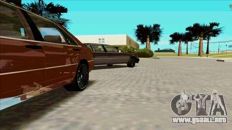 Mercedez-Benz W140 para GTA San Andreas left