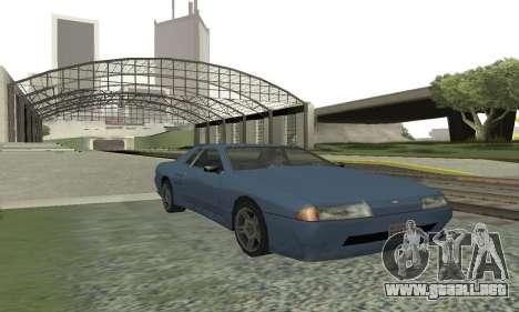 Estándar Elegía con un alerón retráctil para GTA San Andreas left
