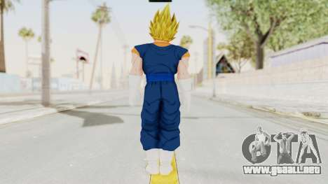Dragon Ball Xenoverse Vegito SSJ para GTA San Andreas tercera pantalla
