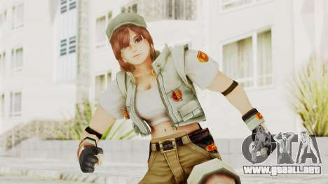 KOF Maximum Impact - Fiolina Germi para GTA San Andreas
