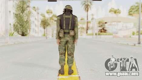 MGSV Ground Zeroes US Pilot v1 para GTA San Andreas tercera pantalla