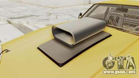 GTA 5 Declasse Sabre GT2 B IVF para visión interna GTA San Andreas
