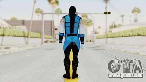 Mortal Kombat X Klassic Sub Zero UMK3 v2 para GTA San Andreas tercera pantalla