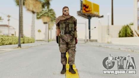 MGSV The Phantom Pain Venom Snake Scarf v6 para GTA San Andreas segunda pantalla
