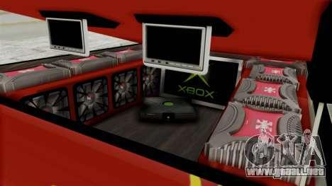 Mitsubishi Pajero Iraqi Pickup para visión interna GTA San Andreas