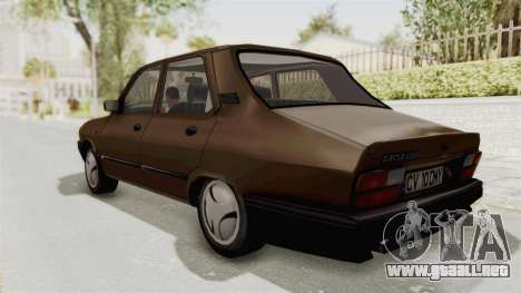Dacia 1310 Berlina 2001 Stock para GTA San Andreas left