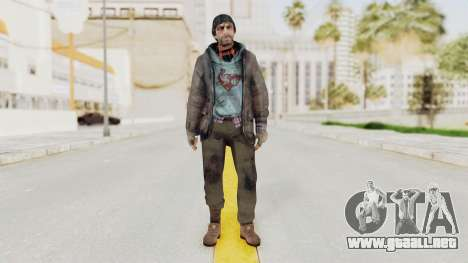 Bourne Conspirancy Homeless para GTA San Andreas segunda pantalla