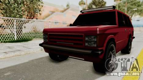 Huntley LR para GTA San Andreas