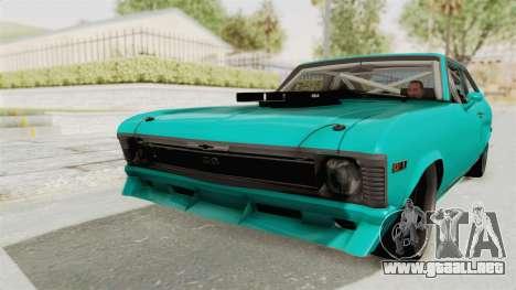 Chevy Nova 454 para GTA San Andreas