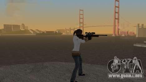 VIP Sniper Rifle para GTA San Andreas segunda pantalla