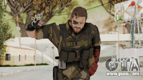 MGSV The Phantom Pain Venom Snake Splitter para GTA San Andreas