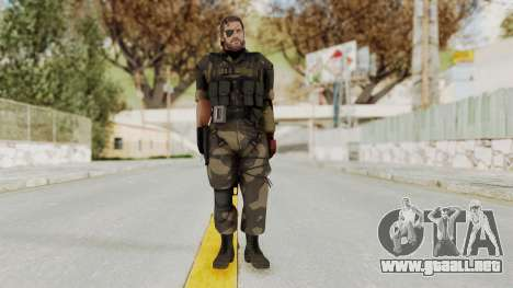 MGSV The Phantom Pain Venom Snake Splitter para GTA San Andreas segunda pantalla