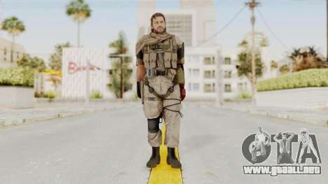 MGSV The Phantom Pain Venom Snake Sc No Patch v3 para GTA San Andreas segunda pantalla