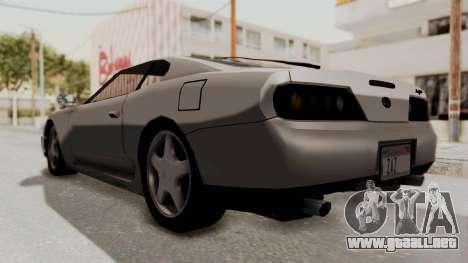 Jester Supra para la visión correcta GTA San Andreas