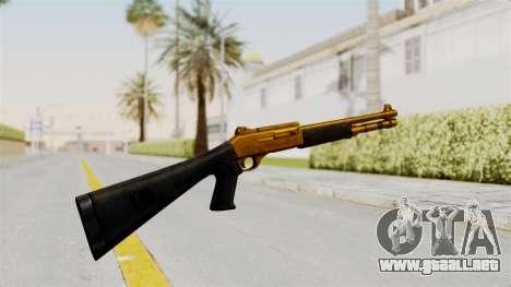 XM1014 Gold para GTA San Andreas segunda pantalla