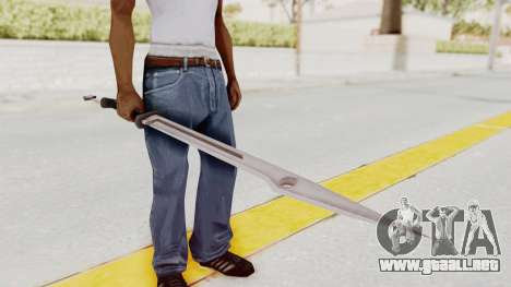Saints Row 3 - Deckers Sword (Saints Style) para GTA San Andreas
