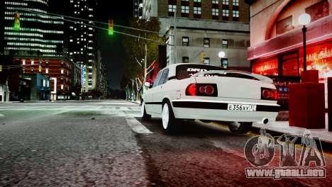 GAZ 3110 Turbo WRX STI para GTA 4 vista hacia atrás