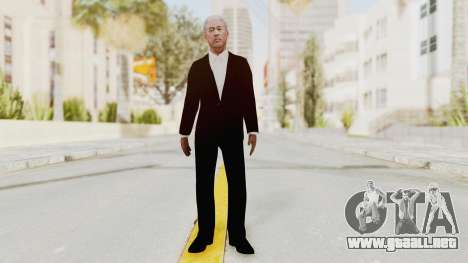 Batman Begins - Morgan Freeman para GTA San Andreas segunda pantalla