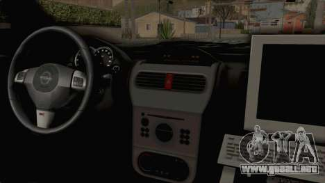Opel Corsa para visión interna GTA San Andreas