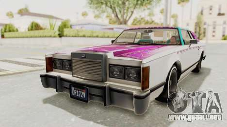 GTA 5 Dundreary Virgo Classic Custom v3 para las ruedas de GTA San Andreas