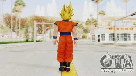 Dragon Ball Xenoverse Goku SSJ2 para GTA San Andreas tercera pantalla