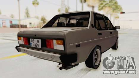 Fiat 131 Supermirafiori para GTA San Andreas left