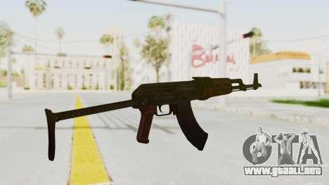 kbk AKMS para GTA San Andreas tercera pantalla
