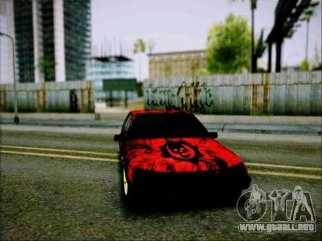 2109 Agresivo para GTA San Andreas vista posterior izquierda
