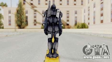 Captain America Civil War - War Machine para GTA San Andreas tercera pantalla
