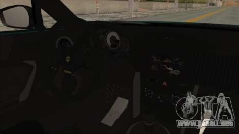Scion FRS Rocket Bunny Killagram v1.0 para visión interna GTA San Andreas