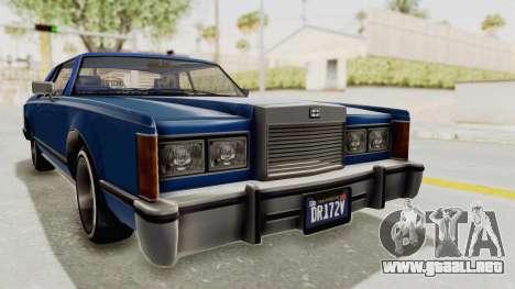 GTA 5 Dundreary Virgo Classic Custom v1 IVF para la visión correcta GTA San Andreas