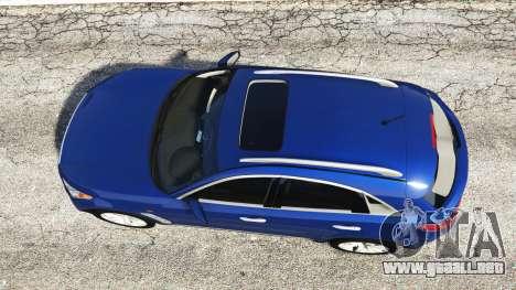 GTA 5 Infiniti FX S50 vista trasera