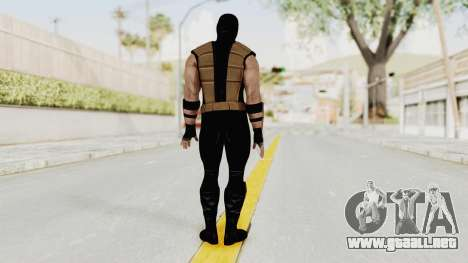 Mortal Kombat X Klassic Tremor para GTA San Andreas tercera pantalla
