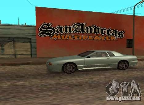 San Andreas Multiplayer Graffiti para GTA San Andreas tercera pantalla