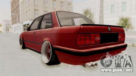 BMW M3 E30 Camber Low para GTA San Andreas left