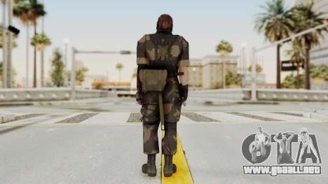 MGSV The Phantom Pain Venom Snake Splitter para GTA San Andreas tercera pantalla