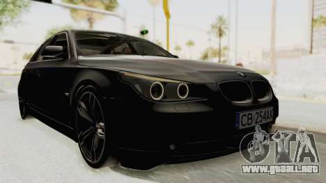 BMW 530D E60 para GTA San Andreas
