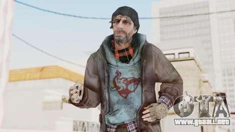 Bourne Conspirancy Homeless para GTA San Andreas