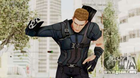 Captain America Civil War - Hawkeye para GTA San Andreas