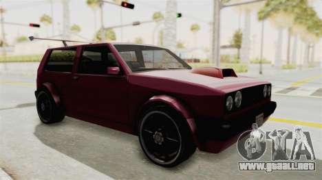 New Club Modification para la visión correcta GTA San Andreas