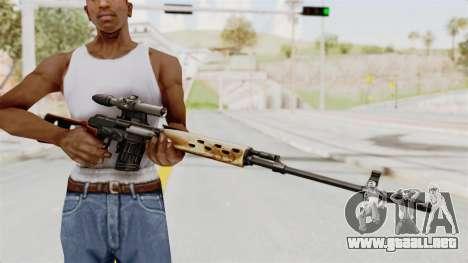 Sniper with New Realistic Crosshair para GTA San Andreas tercera pantalla