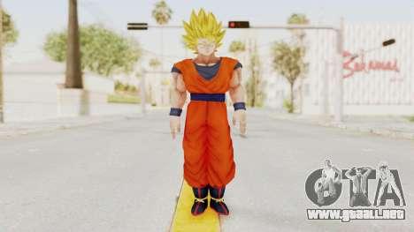 Dragon Ball Xenoverse Goku SSJ2 para GTA San Andreas segunda pantalla