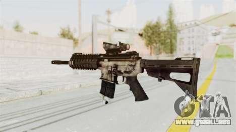 P416 para GTA San Andreas segunda pantalla