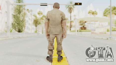 COD BO Reznov Macv para GTA San Andreas tercera pantalla
